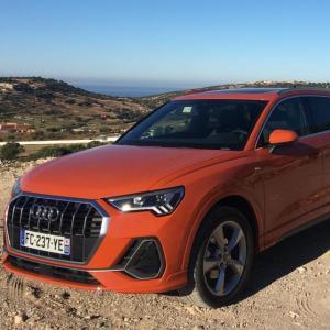 Audi Q3 : le SUV en quatre points