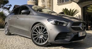 Mercedes Classe B : le nouveau monospace en quatre points