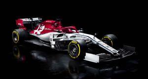 Formule 1 : Alfa Romeo dévoile les couleurs de sa monoplace C38