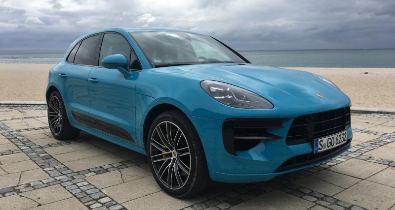 Porsche Macan restylé : nos premières photos de l'essai du SUV