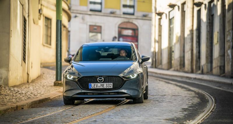 Essai Mazda3 : les photos de notre essai à Lisbonne