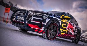 EN VIDÉO : l'exploit de l'Audi e-tron quattro sur une piste de ski alpin