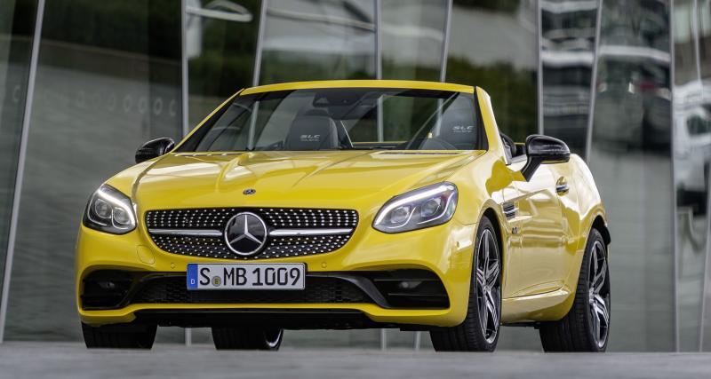 Mercedes SLC : la Final Edition pour un dernier adieu au roadster