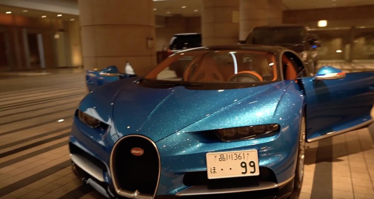 1 million de dollars d'options pour cette Bugatti Chiron !