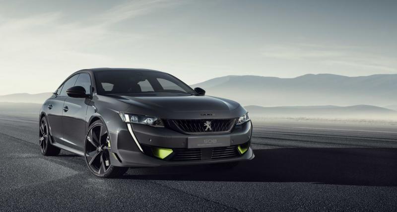Peugeot 508 Sport Engineered : un concept hybride sportif