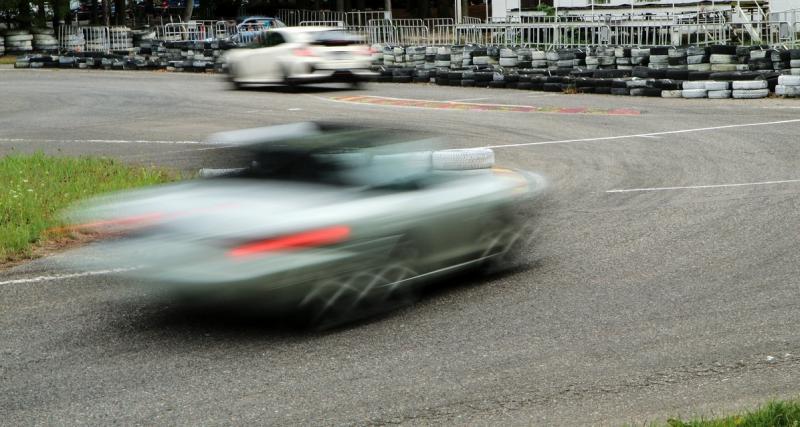 Flashé à 180 km/h sur une route nationale