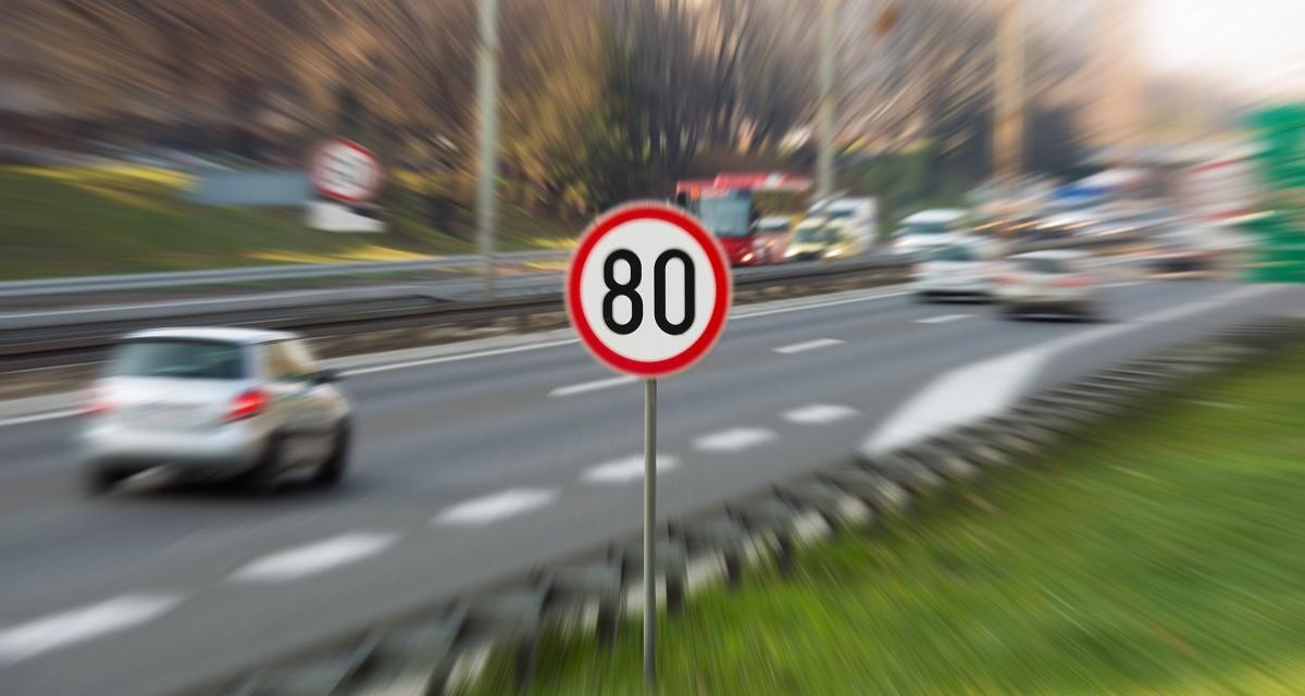 Flashé à 161 km/h sur une route limitée à 80 km/h