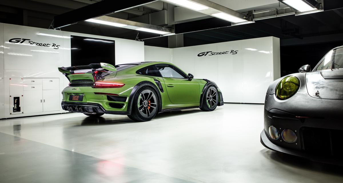 Genève 2019 : une Porsche GTstreet RS de 770ch par Techart