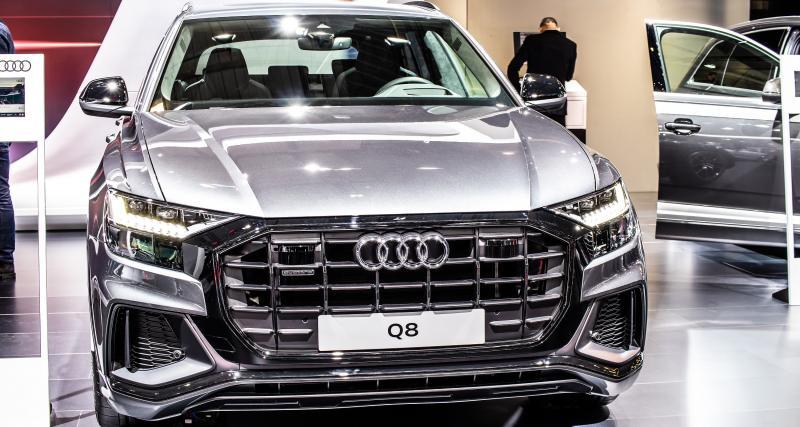 Real - Barça : Benzema se détend au volant de son Audi Q8 50 TDI quattro