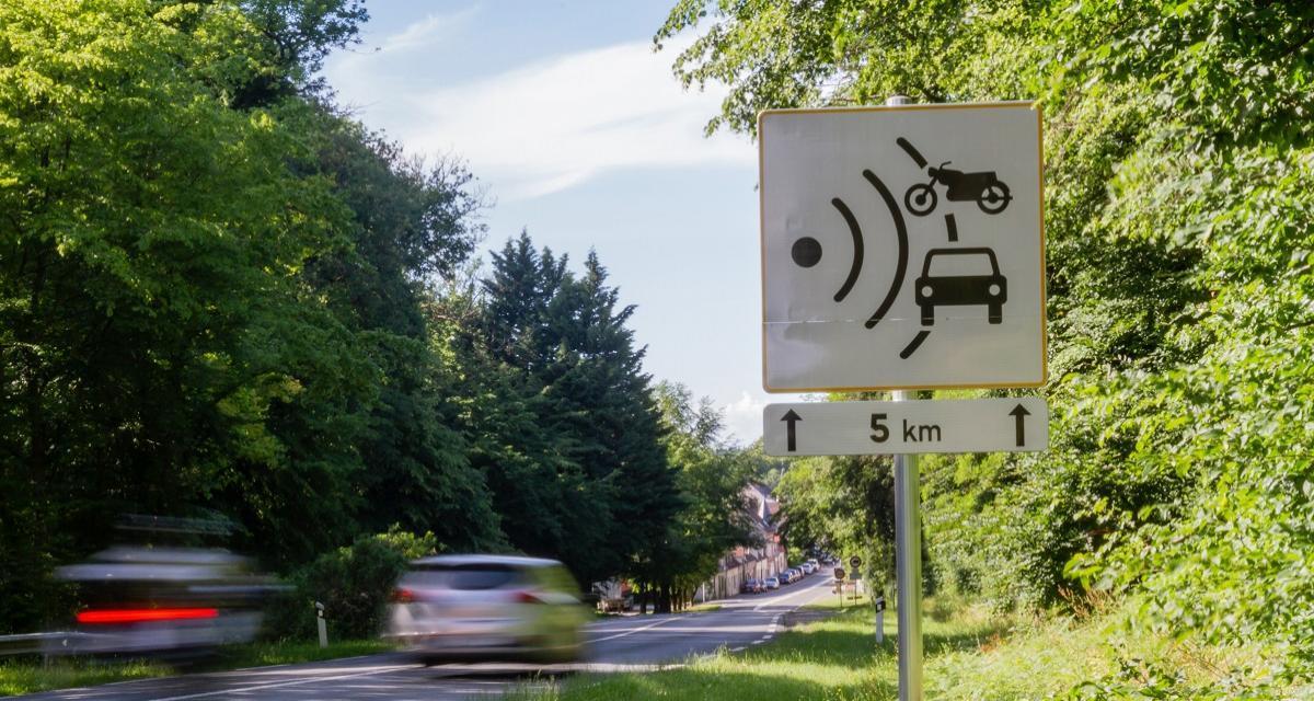 Flashé à 165 km/h sur une route limitée à 90