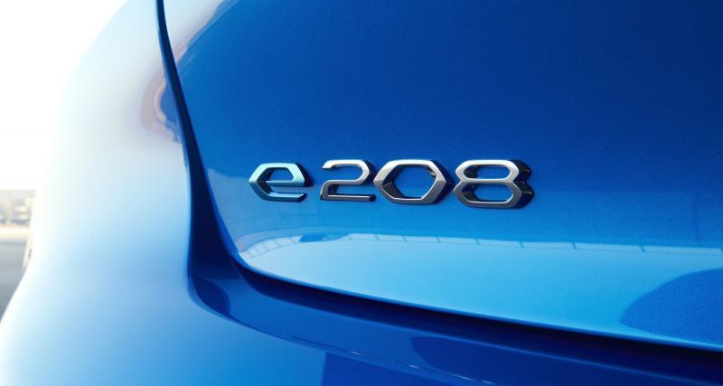 Peugeot e-208: toutes les photos de la citadine 100% électrique