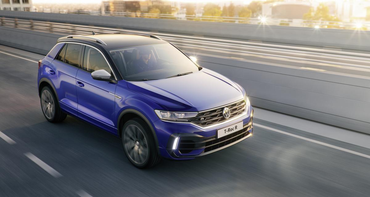 Le Volkswagen T-Roc R arrive à Genève avec 300 ch sous le capot