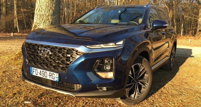 Nouveau Hyundai Santa Fe (exclu française) : nos photos de l'imposant SUV