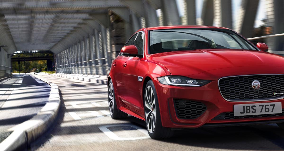 Jaguar XE restylée : toutes les photos de la berline