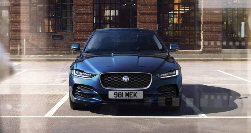 Jaguar XE : un look plus agressif