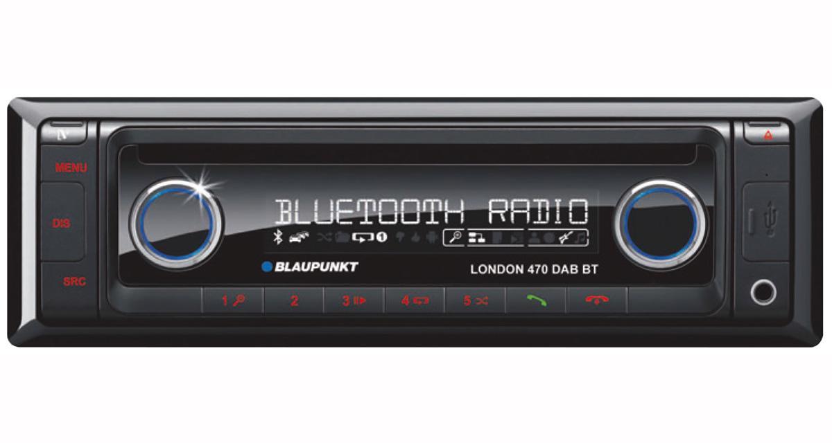 Blaupunkt commercialise un nouvel autoradio DAB Bluetooth