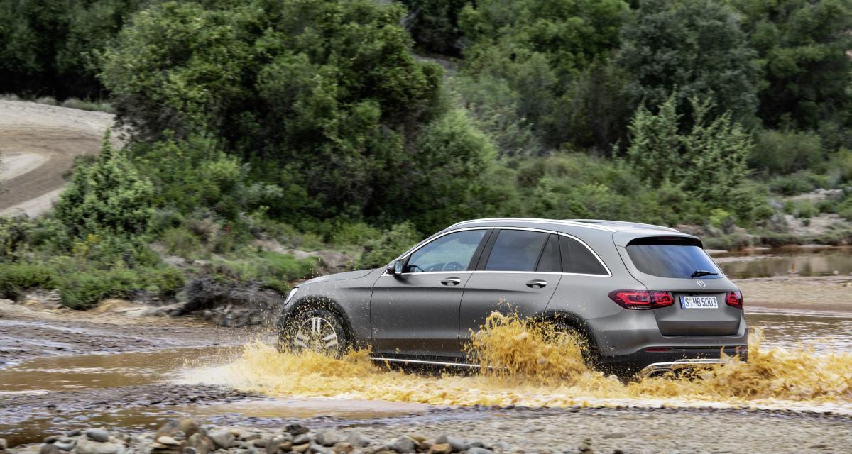 Mercedes GLC : toutes les photos du SUV restylé
