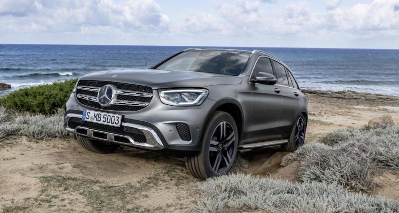 Mercedes GLC restylé : un look plus pointu