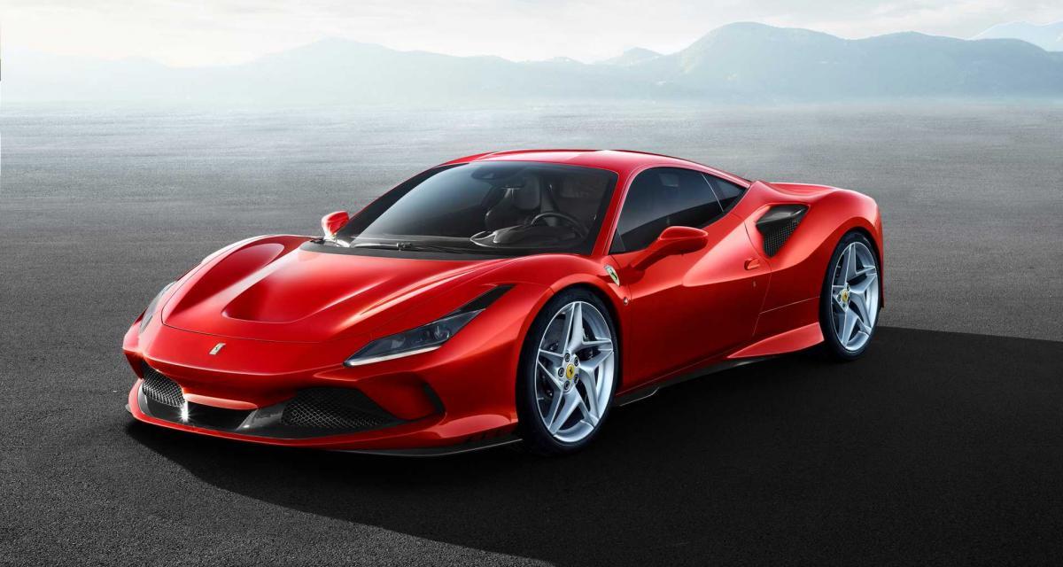 Ferrari F8 Tributo : toutes les photos de supercar