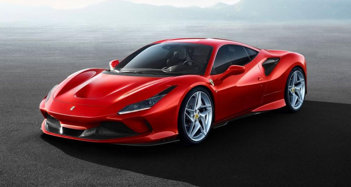 Ferrari F8 Tributo : le V8 le plus puissant de la marque