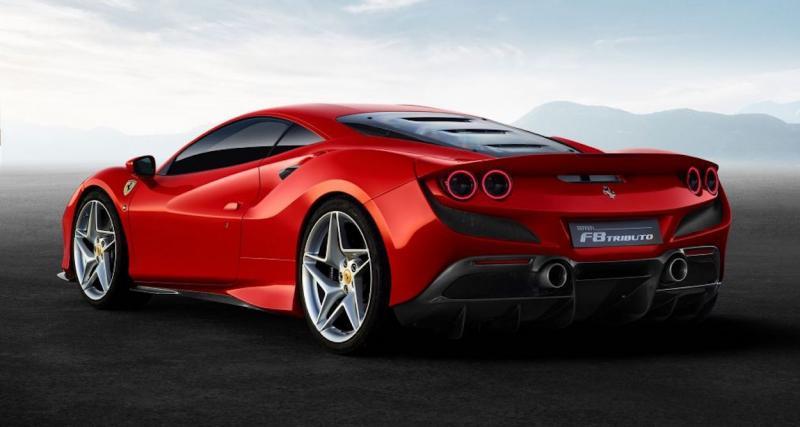 Le V8 le plus puissant produit par Ferrari