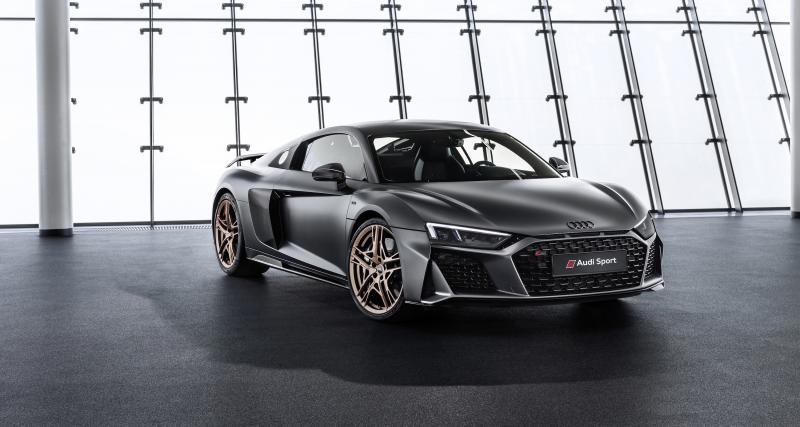 Audi R8 V10 Decennium : toutes les photos de l'édition spéciale