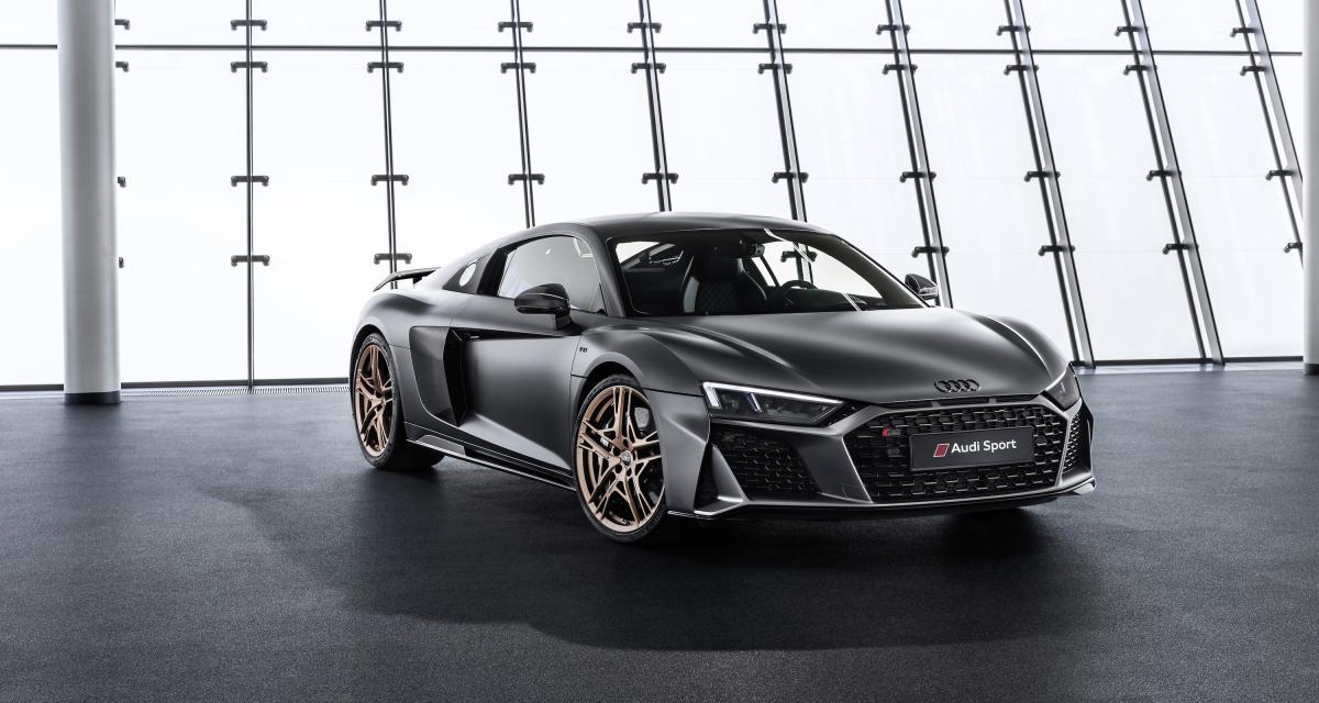 Audi R8 V10 Decennium : déjà 10 ans pour le V10 !
