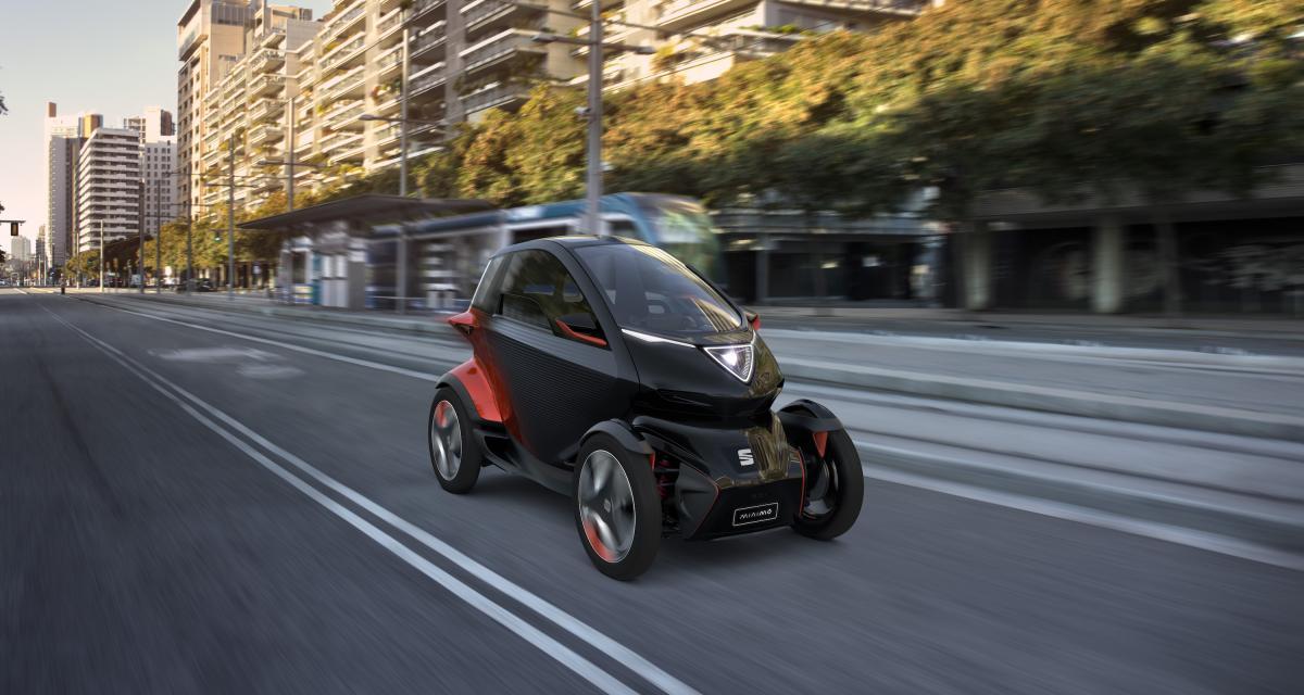 Seat Minimo : le concept-car électrique et autonome en 4 points