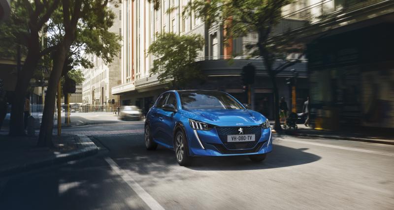 Peugeot e-208 : la citadine 100% électrique en 4 points