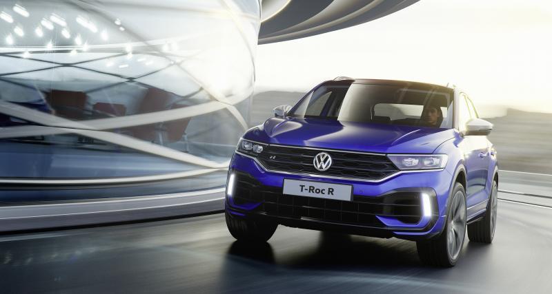 Volkswagen T-Roc R : le SUV sportif en 4 points