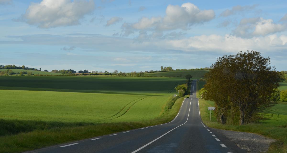 Flashé à 164 km/h sur une route limitée à 90