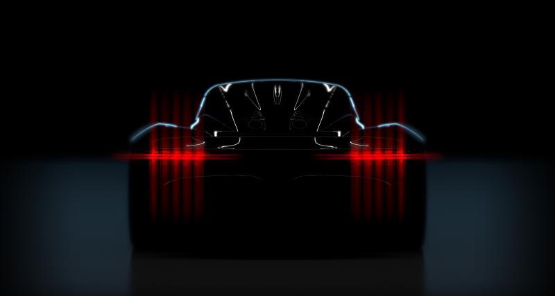 La supercar et le concept Project 003