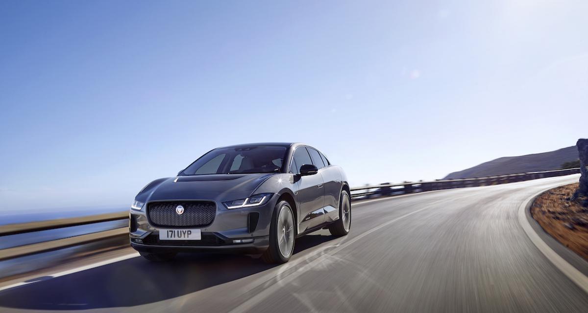 Jaguar I-Pace : élue voiture européenne de l'année 2019