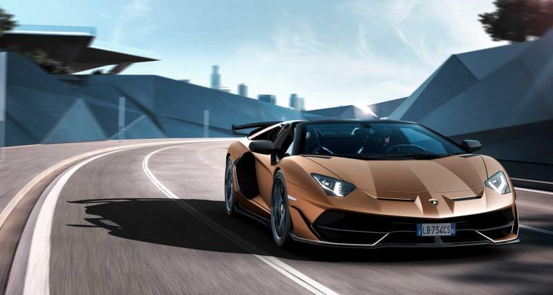 Lamborghini Aventador SVJ Roadster : un cabriolet de 770 chevaux pour la Suisse