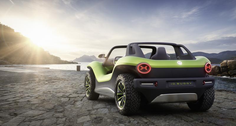 Volkswagen I.D. Buggy: toutes les photos du concept 100% électrique à Genève