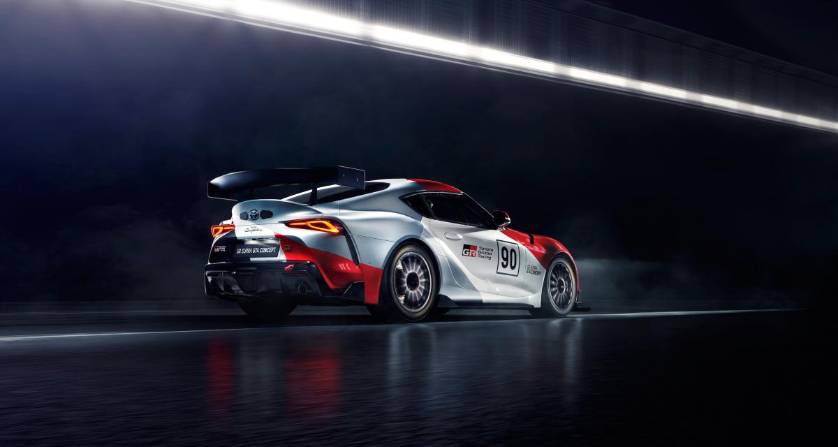 Toyota GR Supra GT4 Concept: machine à gagner