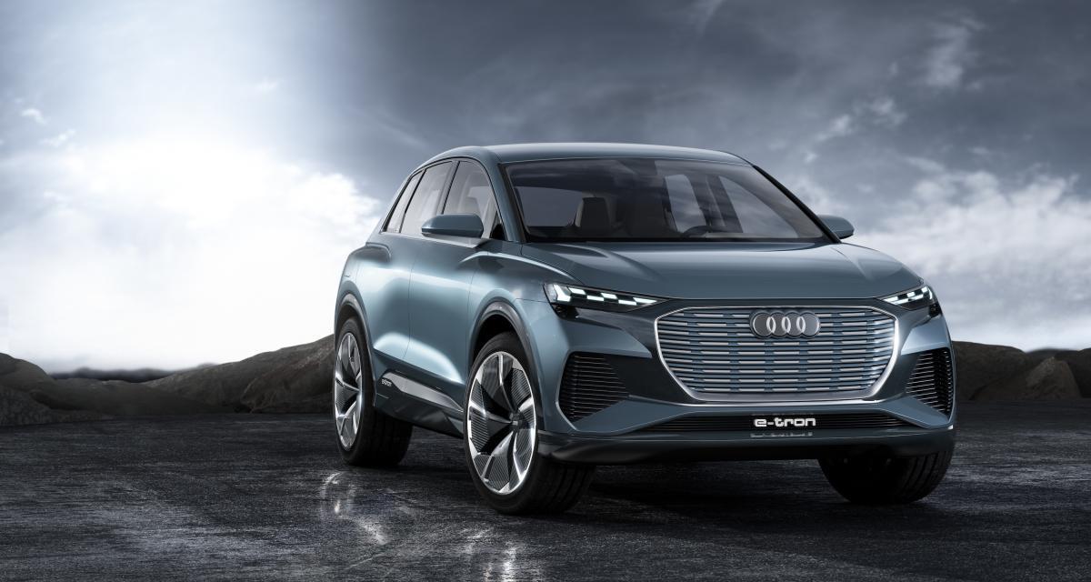 Audi Q4 e-tron Concept: toutes les infos du SUV compact allemand 100% électrique