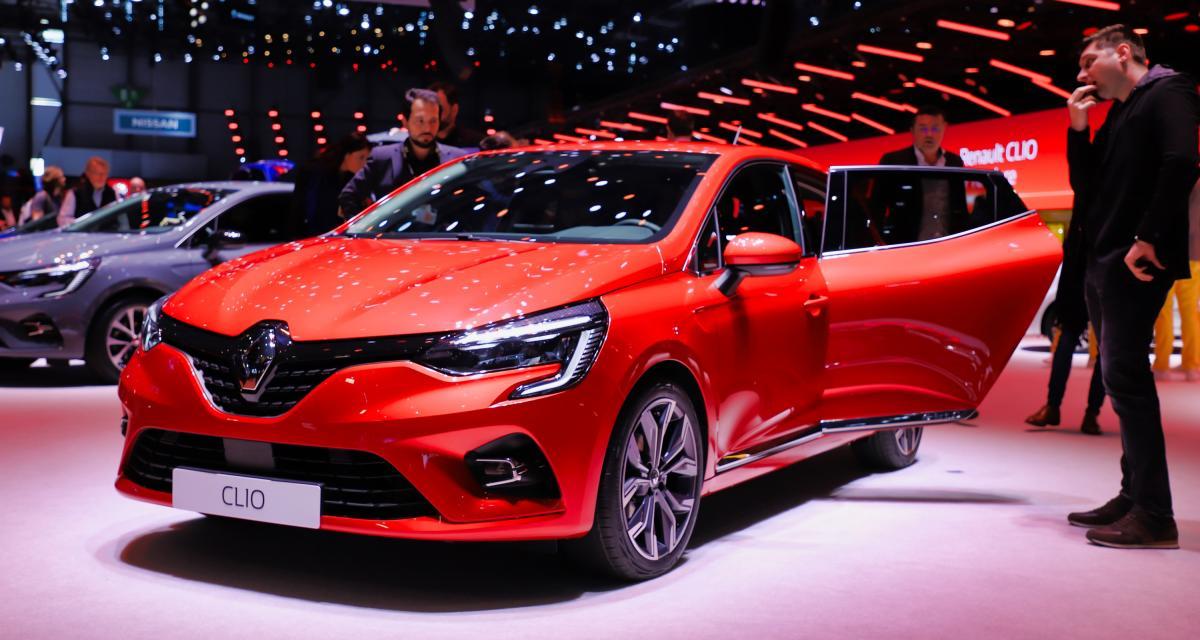 Salon de Genève 2019 - Renault Clio 5 : nos photos de la citadine