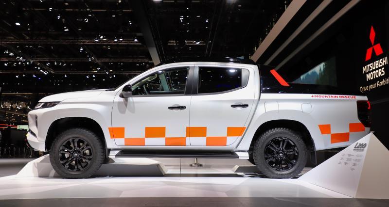 Mitsubishi L200 : nos photos du pick-up au Salon de Genève 2019