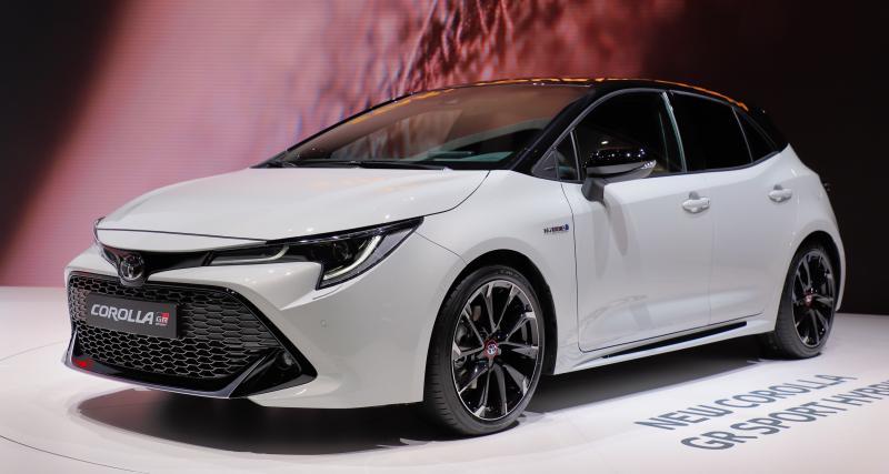 Toyota Corolla GR Sport : nos photos de l'hybride sportive au Salon de Genève 2019