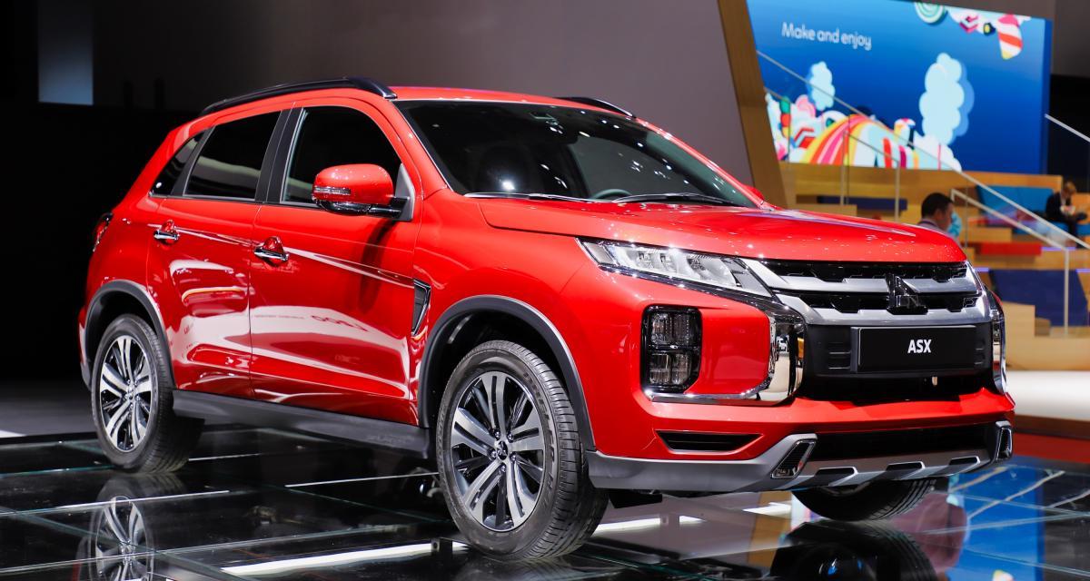 Mitsubishi ASX : nos photos du petit SUV japonais au Salon de Genève 2019