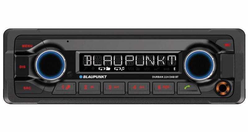 Blaupunkt dévoile un autoradio high-tech 24 Volts pour les camions