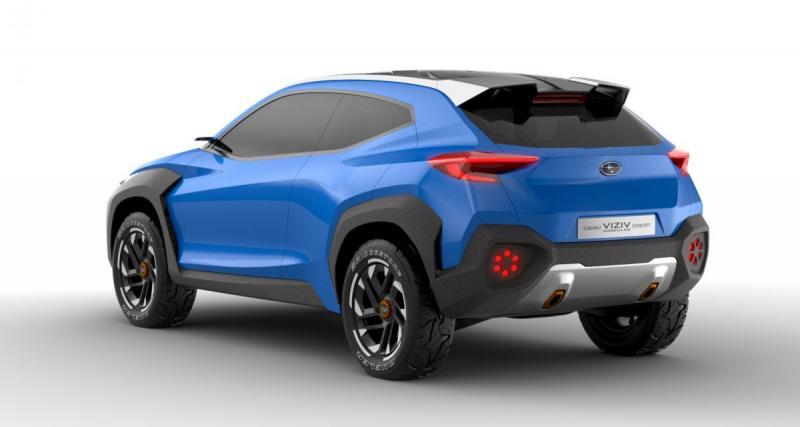 Subaru Viziv Adrenaline : la première photo du concept du SUV Subaru à Genève