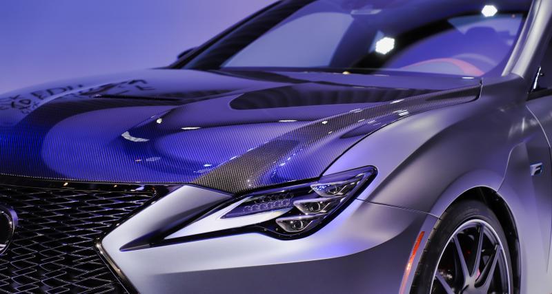 Lexus RC F Track Edition : nos photos du coupé sportif au Salon de Genève 2019