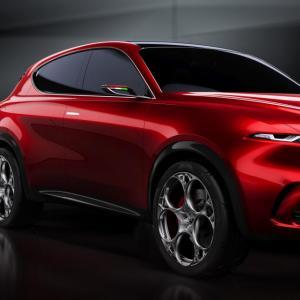 Alfa Romeo Tonale: toutes les photos du concept de SUV hybride italien à Genève