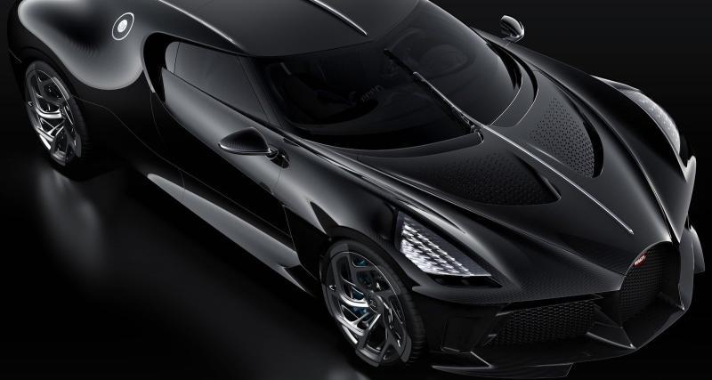 Bugatti La Voiture Noire: l'hypercar en vidéo depuis le Salon de Genève 2019