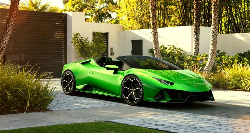 Lamborghini Huracan EVO Spyder: notre vidéo de la supercar italienne à Genève