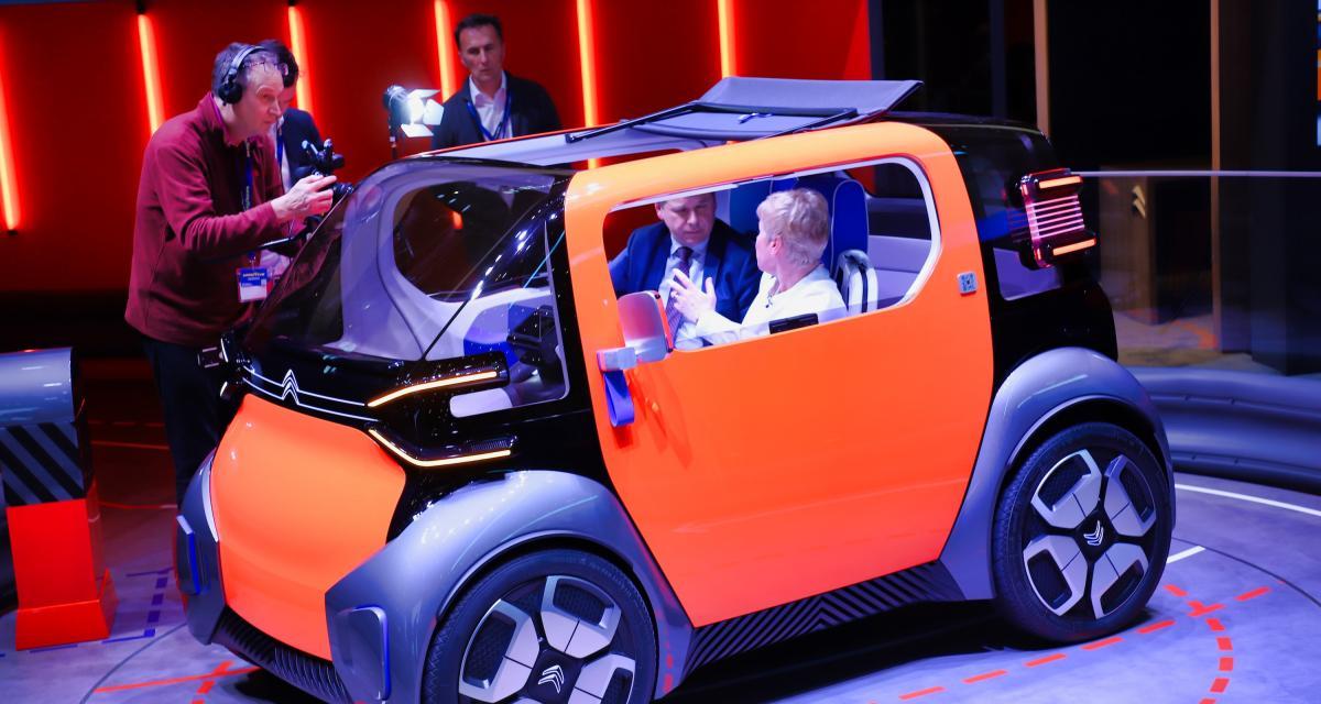 Citroën Ami One Concept : nos photos de la citadine électrique au Salon de Genève 2019