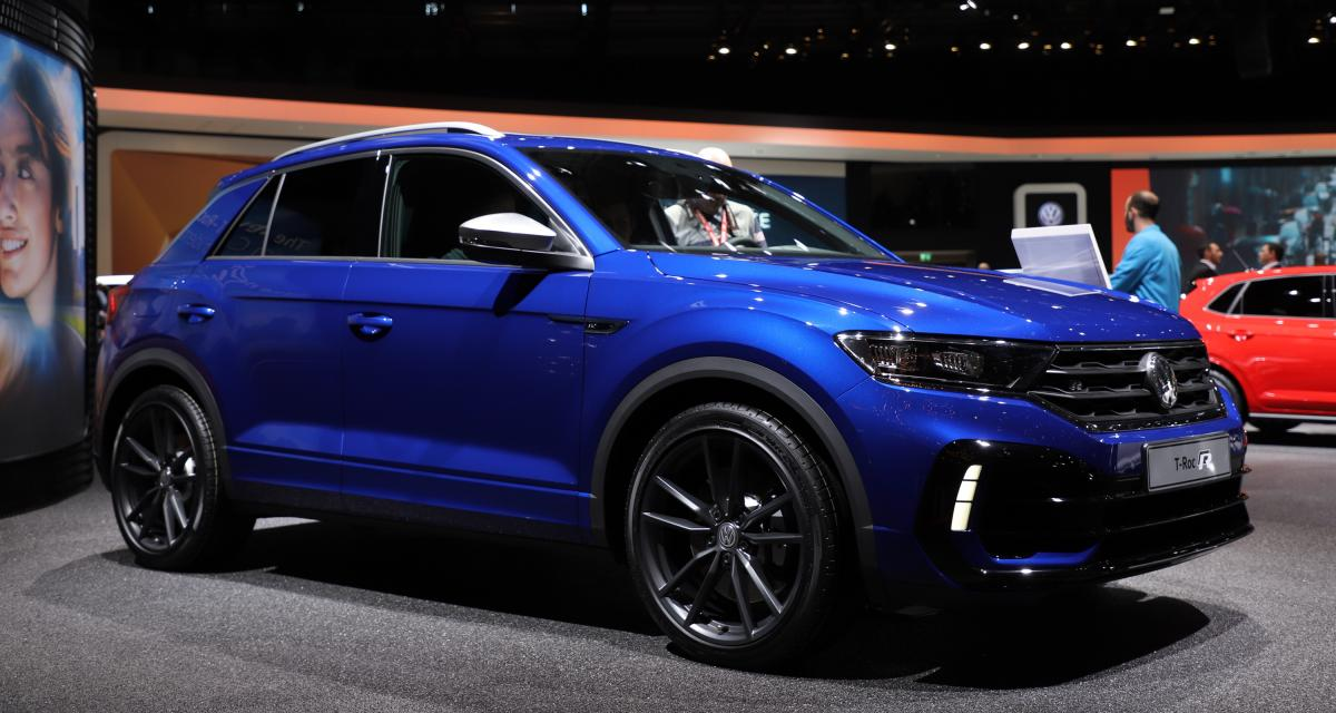 volkswagen t roc r nos photos du suv sportif allemand au. Black Bedroom Furniture Sets. Home Design Ideas