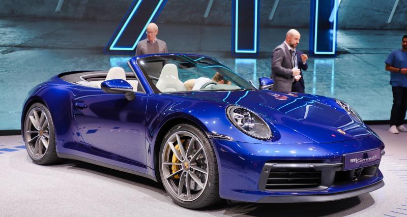 Porsche 911 Cabriolet : nos photos du cabriolet allemand au Salon de Genève 2019